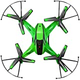 Owill YD- A8 4CH 6-Axis Gyro 2.0MP HD Camera RC Quadcopter 360 Flips Aircraft Drone/Great Gift For Your Friends (Green)