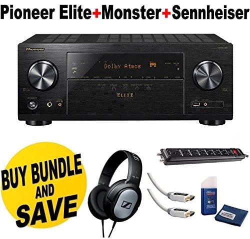 Pioneer VSX LX101 Networked Sennheiser Headphones product image