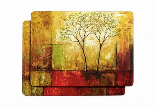 Morning Luster Cork Back Placemats