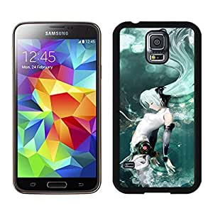 Beautiful Designed Case With hatsune miku 1 Black For Samsung Galaxy S5 I9600 G900a G900v G900p G900t G900w Phone Case