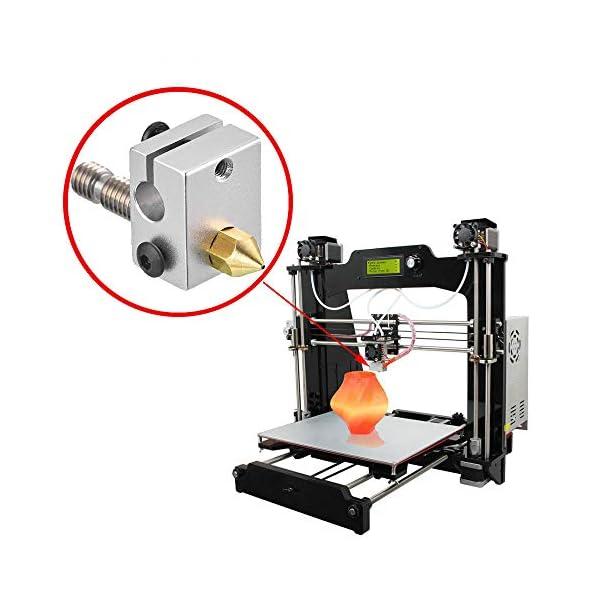 22PCS For 3D Printer Nozzle 1.75mm PLA  Filament  Extruder Reprap Printer Parts