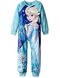 Disney girls Frozen Elsa Minky Blanket Sleeper