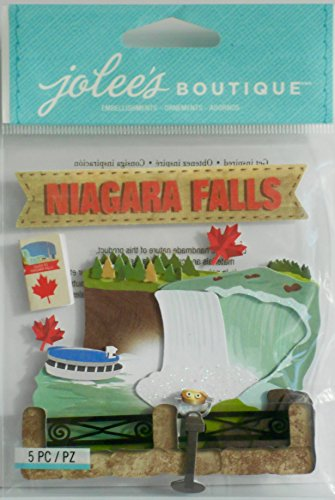 - Jolee's Boutique Niagara Falls Dimensional Stickers