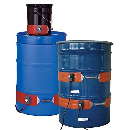 Brisk Heat Flexible 30-gal Metal Drum Heater w/Thermostat; 50-425F, 120V