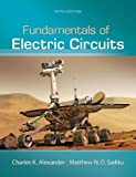 img - for Fundamentals of Electric Circuits by Alexander, Charles Published by McGraw-Hill Science/Engineering/Math 5th (fifth) edition (2012) Hardcover book / textbook / text book