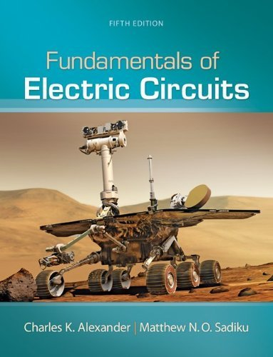Fundamentals of Electric Circuits by Alexander, Charles Published by McGraw-Hill Science/Engineering/Math 5th (fifth) edition (2012) Hardcover