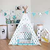 Fessyc@blue small tree Children's Teepee Play tent,childrens teepee,kids teepee,baby shower,tipi,teepee tent,kids teepee tent,teepee tent for kids,tipi tent