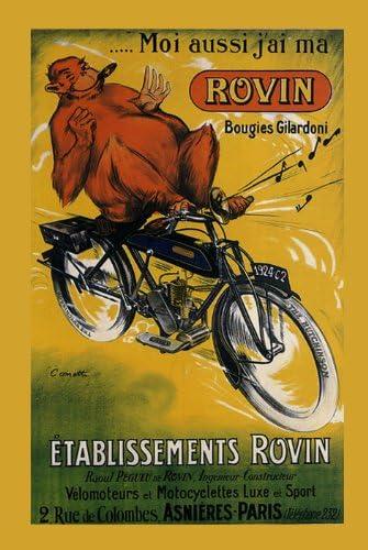 Moto cross vintage moto cross advertising poster reproduction.
