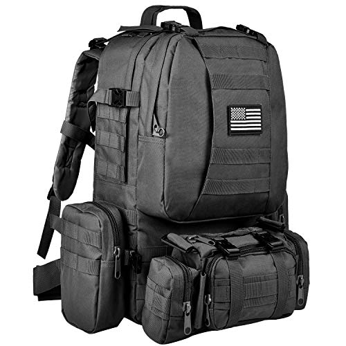 CVLIFE Outdoor 60L Built-up Military...