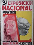img - for 3a exposicion nacional de pintura y escultura.capitolio nacional,la habana,cuba.1946. book / textbook / text book