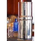 Royal Berkey 3.25 Gal. Stainless Steel Water Filter with 2 Ceramic Filters RB4X2-CF