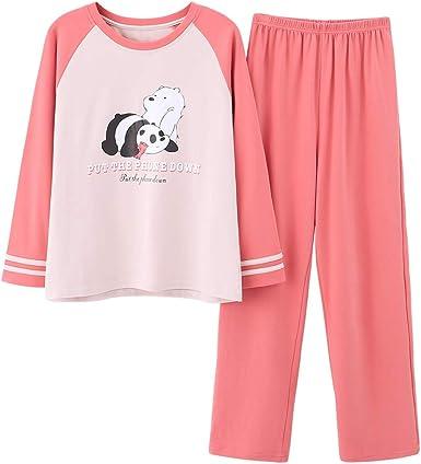 Hello Kitty Pajamas Set Kids Girls Clothes Cartoon Sleepwear Winter Size 2-7T