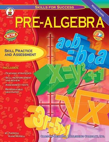Price comparison product image Carson Dellosa CD-4323 Pre-Algebra Skill For Success