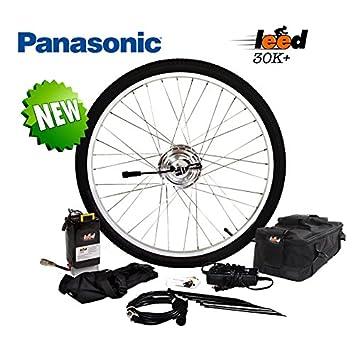 Amazon.com: Electric Bike Kit de conversión/6,4 Ah iones de ...