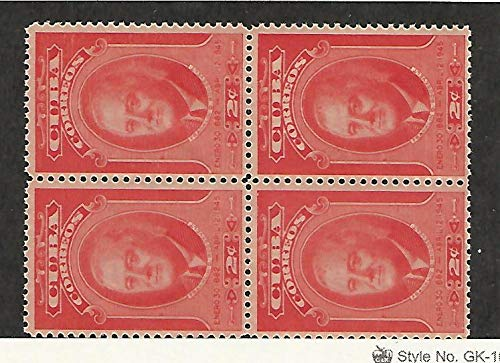 Caribbean Island, Postage Stamp, 406 Block Mint NH, 1947 Roosevelt, JFZ