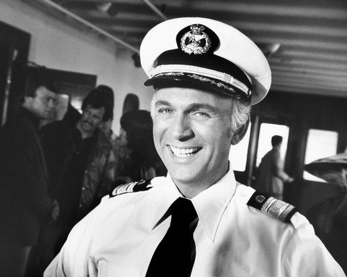 The Love Boat Featuring Gavin Macleod as Captain Merrill Stubing 16x20 Poster