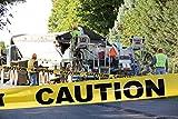 "Yellow Caution Barricade Tape 3"" X 300' • Bright"