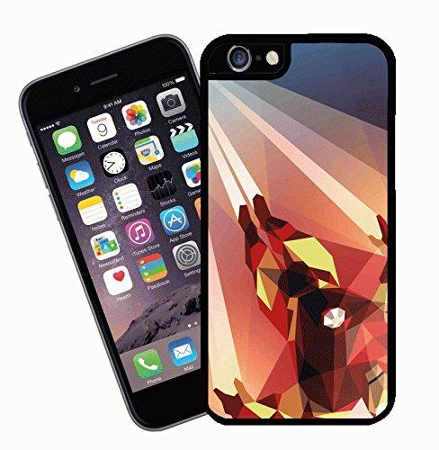 Custodia telefono a fumetti Ironman, design 4 - questa copertura si adatta Apple modello iPhone 6s (6s non plus) - di idee regalo di Eclipse
