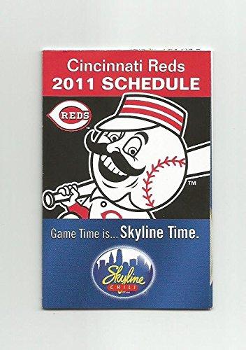 2011 Cincinnati Reds Skyline Chili Season Schedule - Brand New Condition