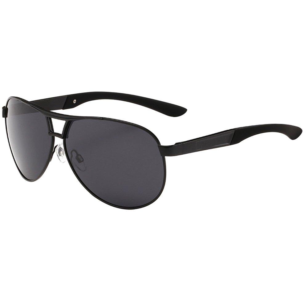 Sanwood - Lunettes de soleil - Homme noir noir Taille unique - noir - Taille Unique 5aBZy9
