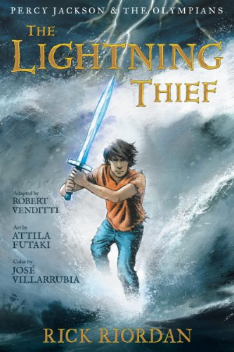 Percy Jackson and the Olympians:  The Lightning Thief: The Graphic Novel (Percy Jackson and the Olympians: The Graphic Novel Book 1) (Percy Jackson And The Lightning Thief Climax)