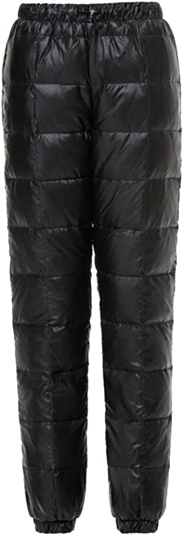 GenericWomen Generic Womens High-Waist Ski Waterproof Puffer Down Pants