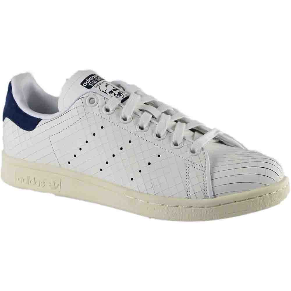 White Navy Adidas ORIGINALS Men's Stan Smith shoes