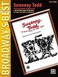 Sweeney Todd - The Demon Barber of Fleet Street - Easy Piano