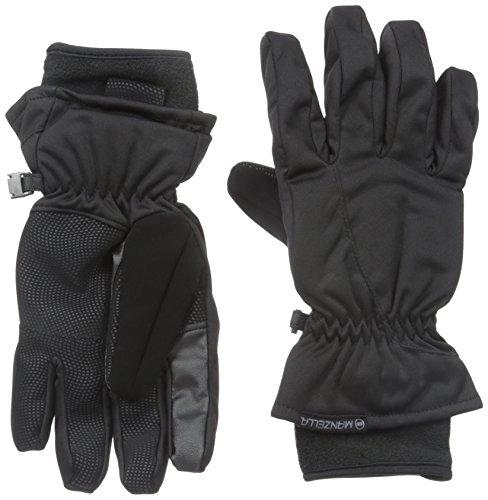 Manzella Women's Inspire Gloves, Black, (Manzella Ski)