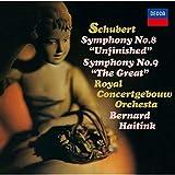 シューベルト:交響曲第8番「未完成」&第9番「グレイト」