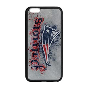 Classic Style Custom Silicone Hard Rubber Protector Case for iPhone6(4.7inch) - New England Patriots