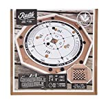Crokinole Deluxe, Double Sided with Checkers Game on Back of Board. 26.5'' X 26.5'' Wide.