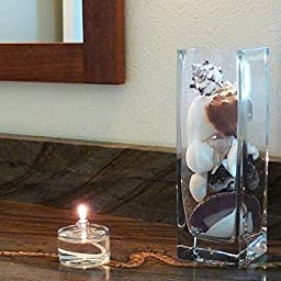 Firefly 3-Ounce Refillable Glass Liquid Candle - Votive Size Emergency Candles - Replacement for Liquid Paraffin Disposable Fuel Cells - Great Emergency Candles.