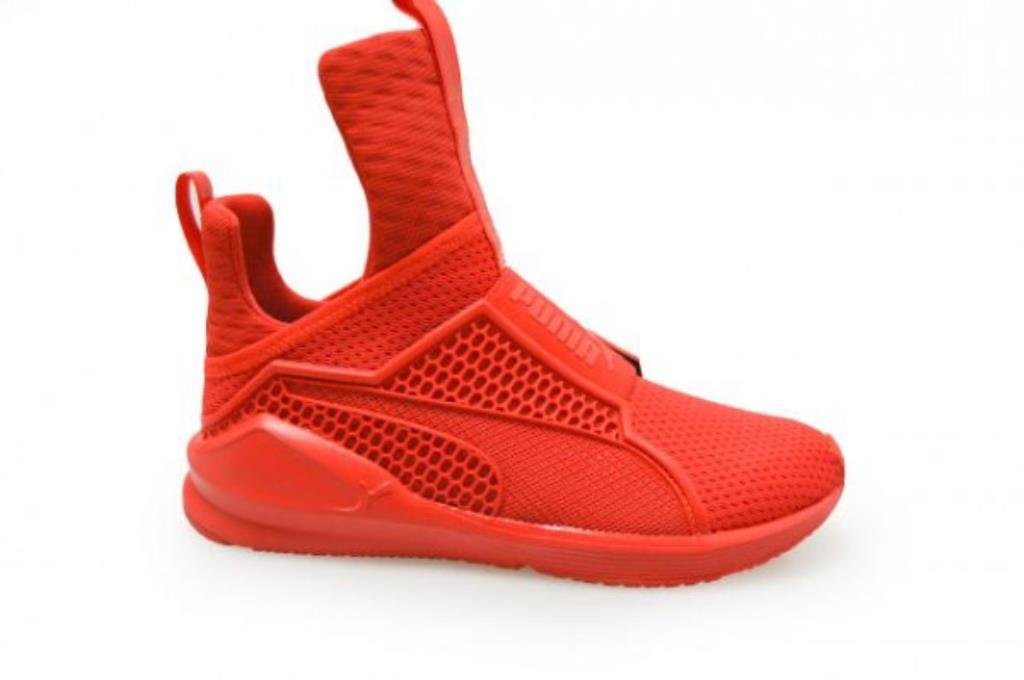 Puma Shoes Fenty x Rihanna Trainer Grey Womens 40 EU|Red