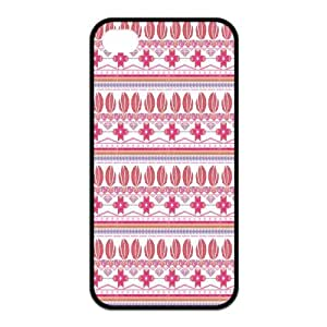 Customized Hot Aztec Tribal Pattern Rubber Back Protector Cover Case for iPhone 4 4s TPU Kimberly Kurzendoerfer