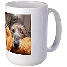 CafePress - Jadzia And Her Stuffy Mugs - Coffee Mug, Large 15 oz. White Coffee Cup