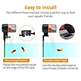 NICREW Automatic Fish Feeder, Battery Operated Auto Fish Food Dispenser for Aquarium