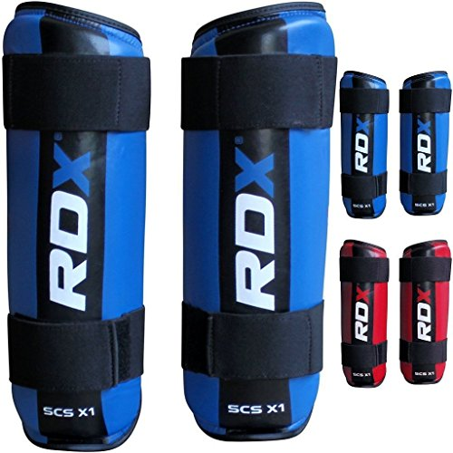 RDX MMA Shin Pads Boxing Leg Guards Semi Contact Protection Muay Thai Training Kickboxing