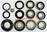 COMPLETE Rear Differential & Axle Bearing Seal Kit for 2000-2006 Honda TRX 350 Rancher ATV