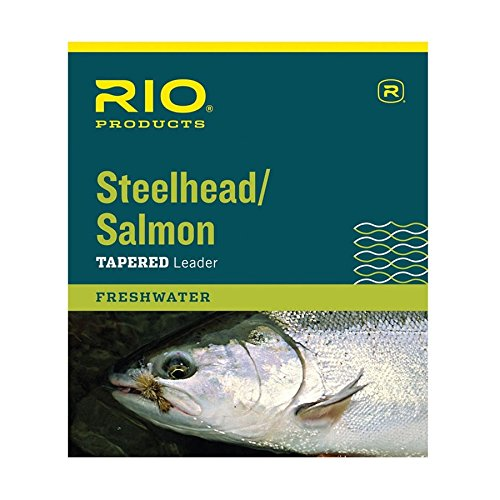 12' Classic Tapers - RIO Fly Fishing Salmon/Steelhead 12' 20Lb Leader, Glacial Green