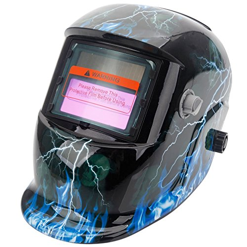 Z ZTDM Welding Helmet Pro Solar Auto Darkening - Welding Helmets Lightning