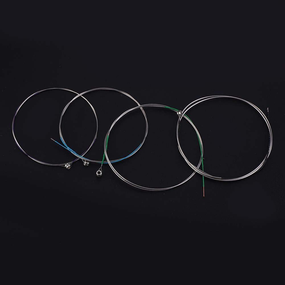 RiToEasysports juego de 4 cuerdas de alambre de acero para instrumentos musicales profesionales Viola Strings