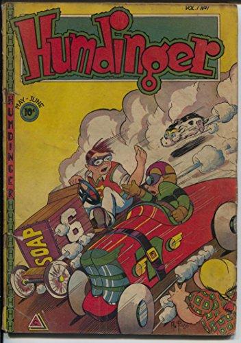 Humdinger #1 1946-1st issue-soap box derby race car-Mickey Starlight-G/VG ()