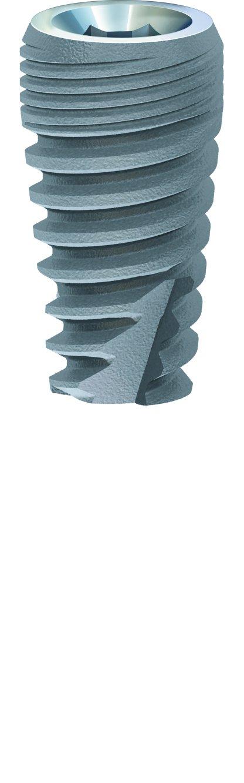 Paltop 20-70006P Advanced Plus Dental Implant, 4.2 mm Diameter, 8 mm Sterilized