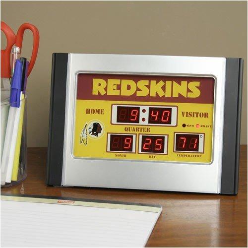 Team Sports America NFL Scoreboard Desk Clock
