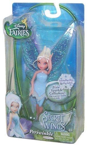 Disney Fairies Secret of the Wings Pixie Sparkle Collection Action Figure Periwinkle by Disney