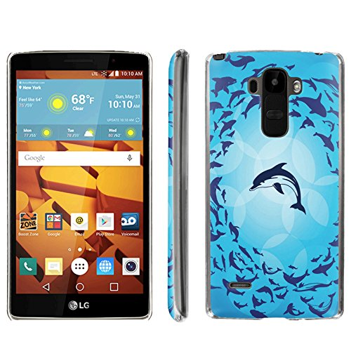 [ArmorXtreme] Phone Case for LG G Stylo LS770 / LG G4 Note Stylus / LG G Stylo H631 / MS631 [Clear] [Ultra Slim Cover Case] - [Dolphin] -  ArmorXtreme for LG G Stylo H631