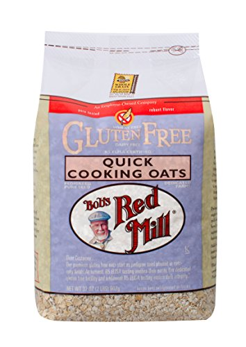 Wheat Bread Mix Free (Bob's Red Mill Gluten Free Quick Cooking Oats, 32 Ounce)
