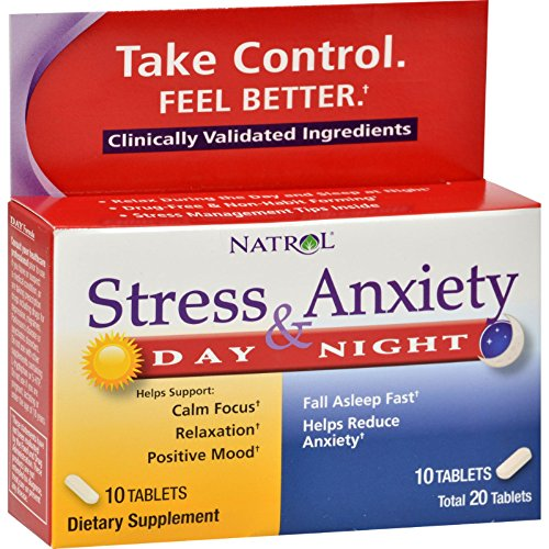 Natrol Stress Anxiety Formula Tablets