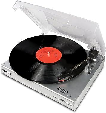 Amazon.com: Ion Powerplay LP USB-Powered vinyl-to-mp3 ...